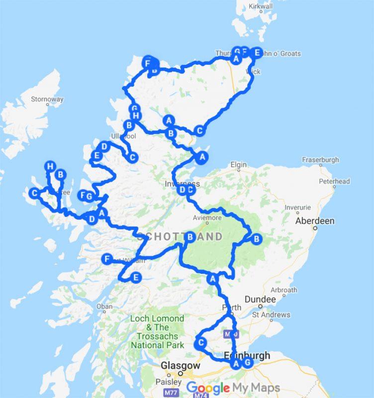 10 Tage Tour Highlands