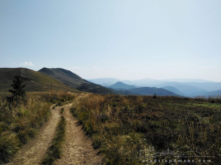Wander in den Waldkarpaten